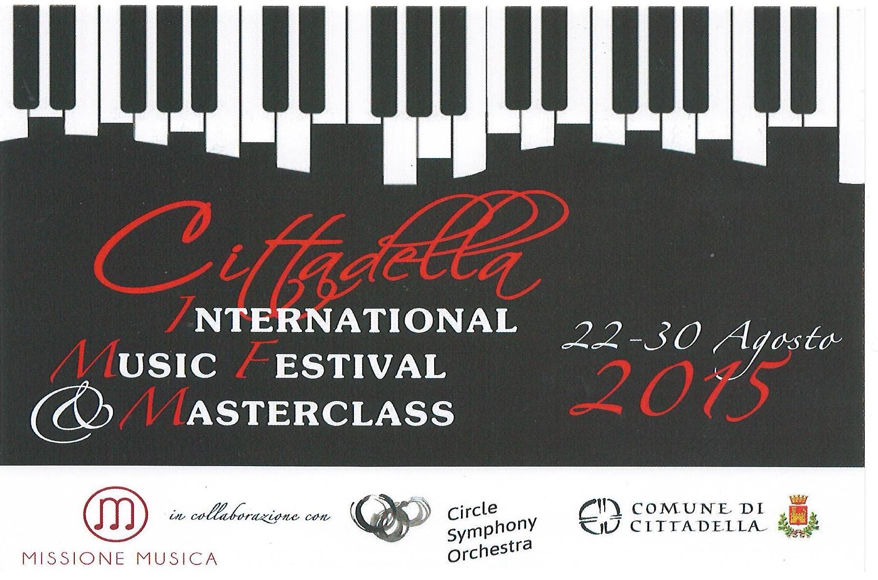 Cittadella International Music Festival Masterlcass